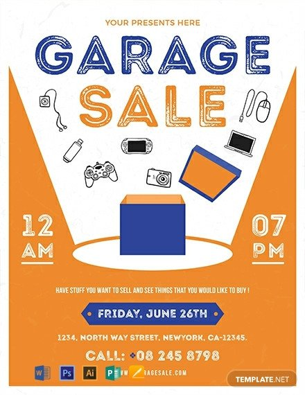 Free Sale Flyer Template Free Garage Sale Flyer Template Download 1577 Flyers In