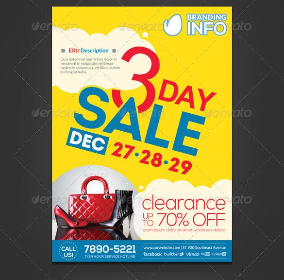 Free Sale Flyer Template Sales Flyer Template – 61 Free Psd format Download