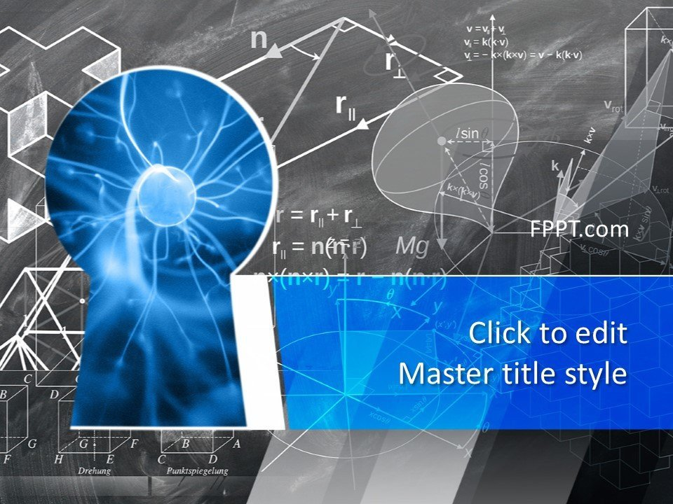 Free Science Powerpoint Templates Free Science Knowledge Powerpoint Template Free