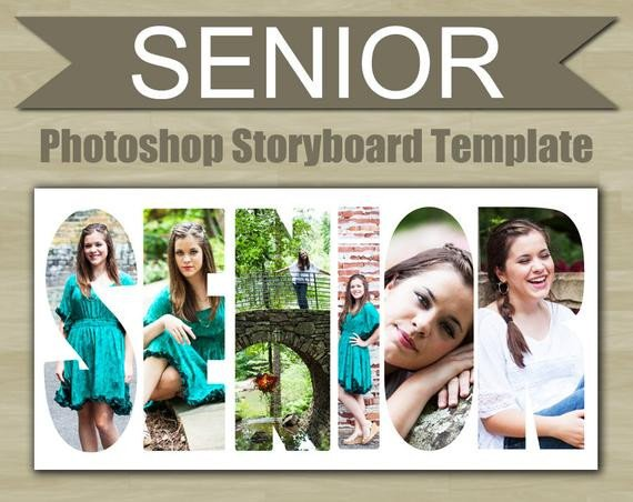 Free Senior Templates for Photoshop Graphy Storyboard Template Senior Shop Template Word