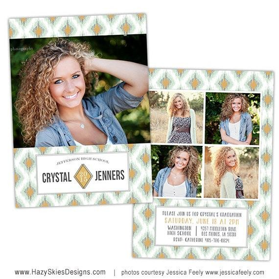 Free Senior Templates for Photoshop Items Similar to Senior Graduation Announcement Card