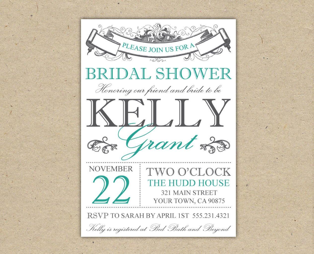Free Shower Invitation Template Bridal Shower Invitation Templates