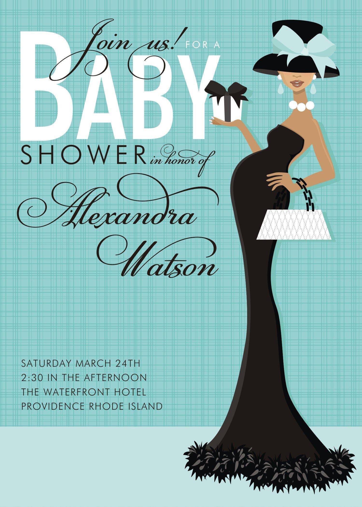 Free Shower Invitation Template Templates