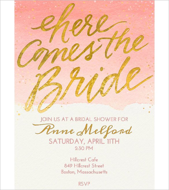 Free Shower Invitation Template Wedding Invitation Template 71 Free Printable Word Pdf