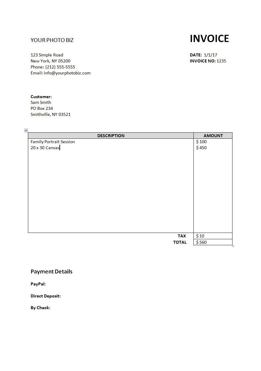Free Simple Invoice Template Simple Invoice Template What S so Trendy About Simple