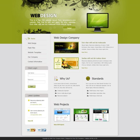 Free Simple Website Templates Web Designing Made Easy with Templatemo S Best Web Templates