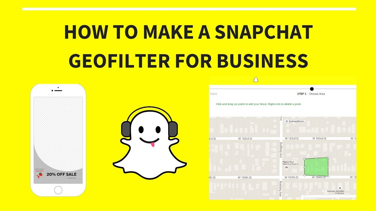 Free Snapchat Geofilter Template How to Create A Snapchat Geofilter for Business 2016