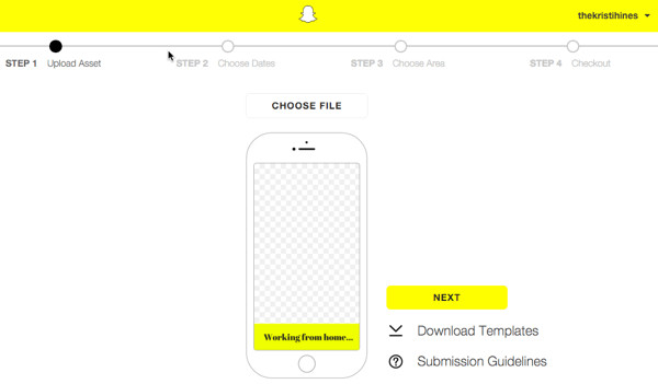 Free Snapchat Geofilter Template How to Create A Snapchat Geofilter for Your event social