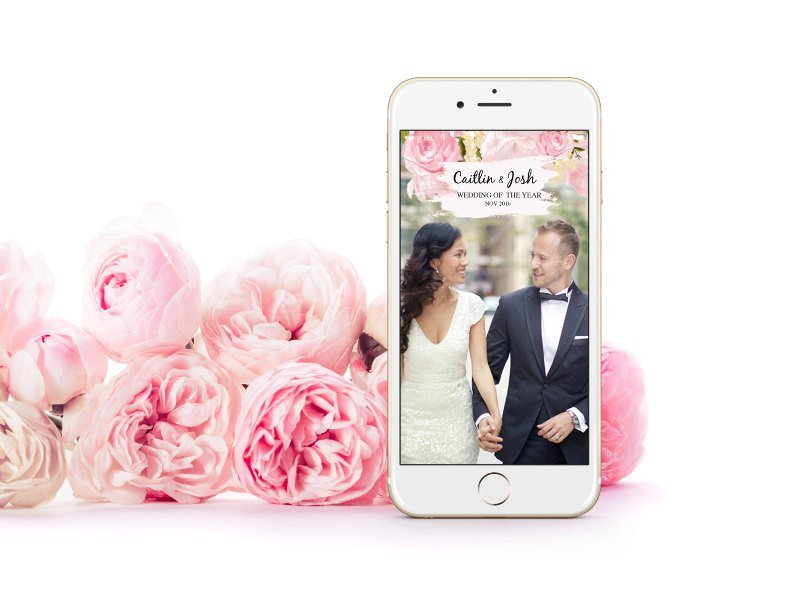Free Snapchat Geofilter Template How to Create A Snapchat Geofilter for Your Wedding This