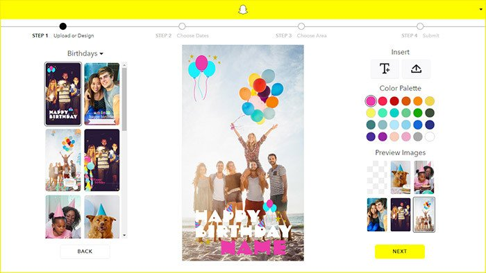 Free Snapchat Geofilter Template How to Create Your Own Geofilters for Snapchat