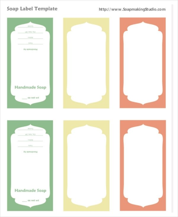Free soap Label Templates Label Template – 23 Free Word Pdf Psd Documents