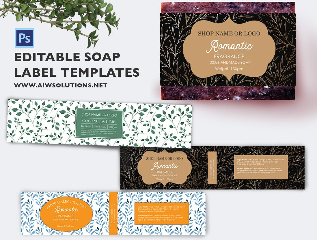 Free soap Label Templates soap Label Template Id49