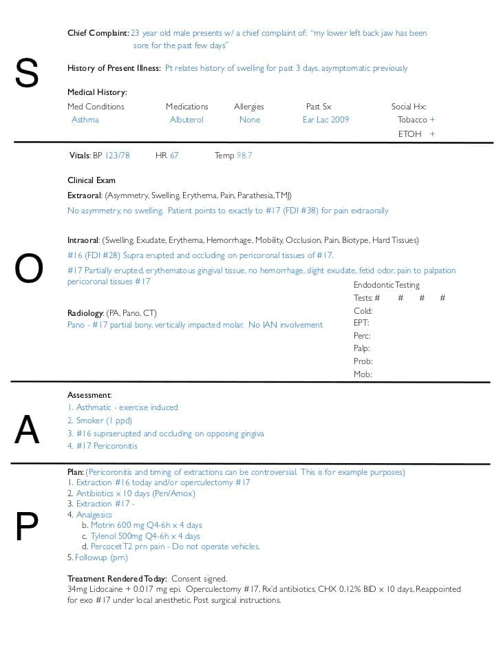 Free soap Note Template Free soap Notes Templates for Busy Healthcare Professionals