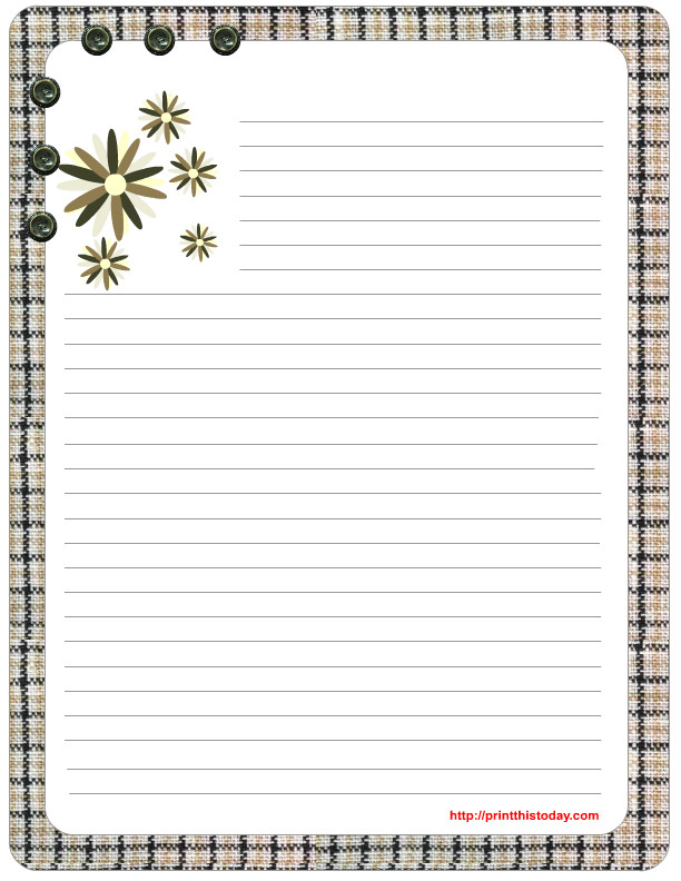 Free Stationery Paper Templates Free Mother S Day Stationery Printables