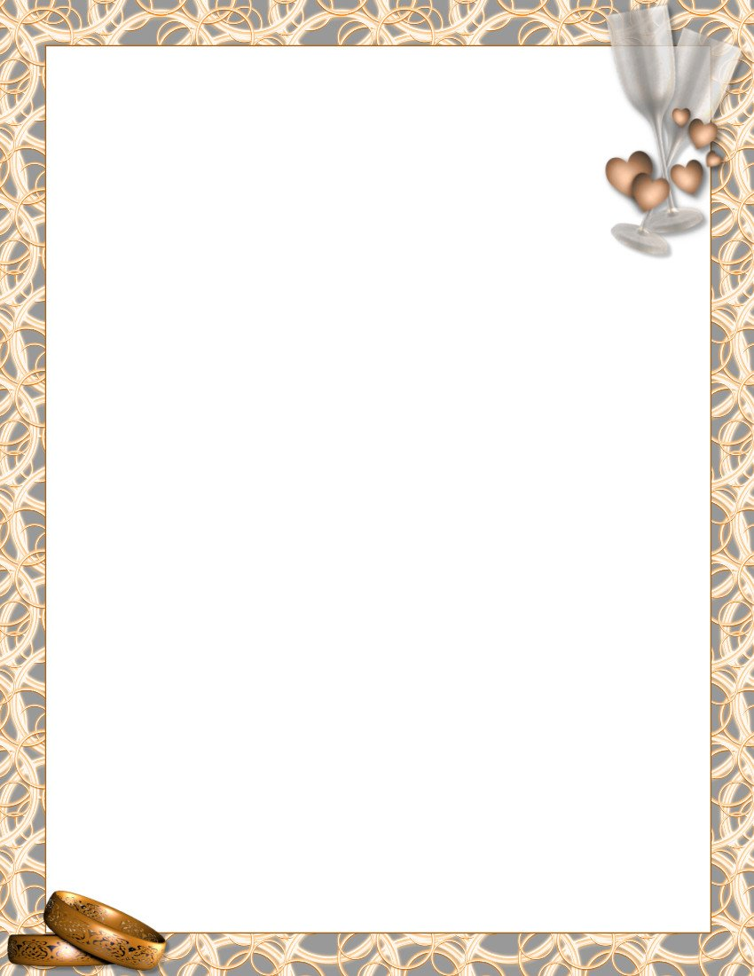 Free Stationery Paper Templates Wedding Stationery