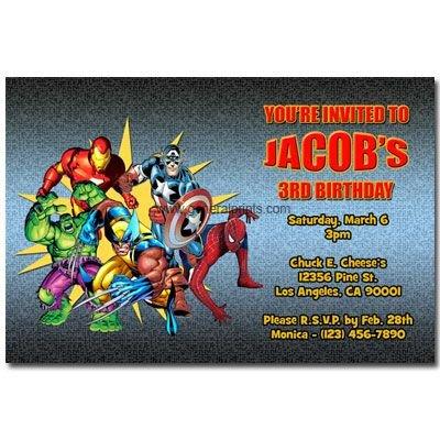 Free Superhero Invitation Template Birthday Invitation Templates Printable Free Super Hero