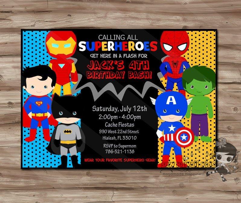 Free Superhero Invitation Template Superhero Invitation Superhero Invitation Superhero Invitation