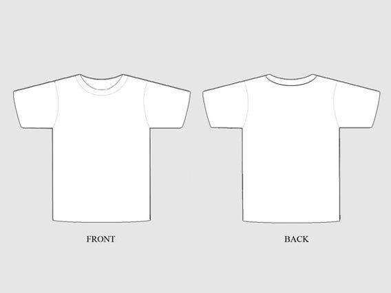 Free T Shirt Template 41 Blank T Shirt Vector Templates Free to Download
