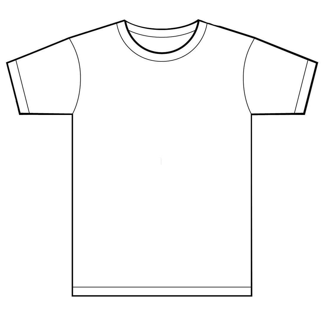 Free T Shirt Template Blank T Shirt Template