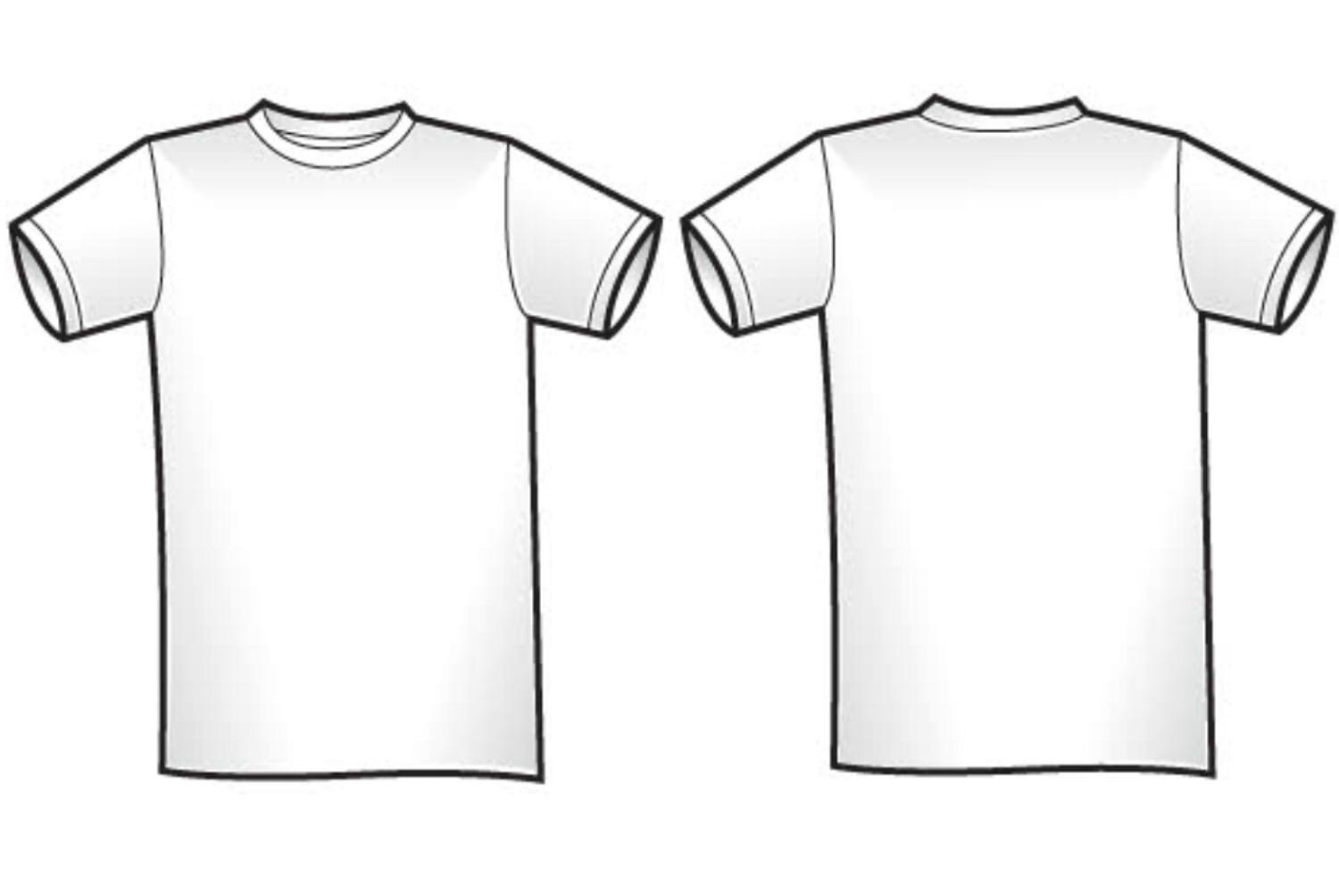 Free T Shirt Template Free Blank T Shirt Outline Download Free Clip Art Free
