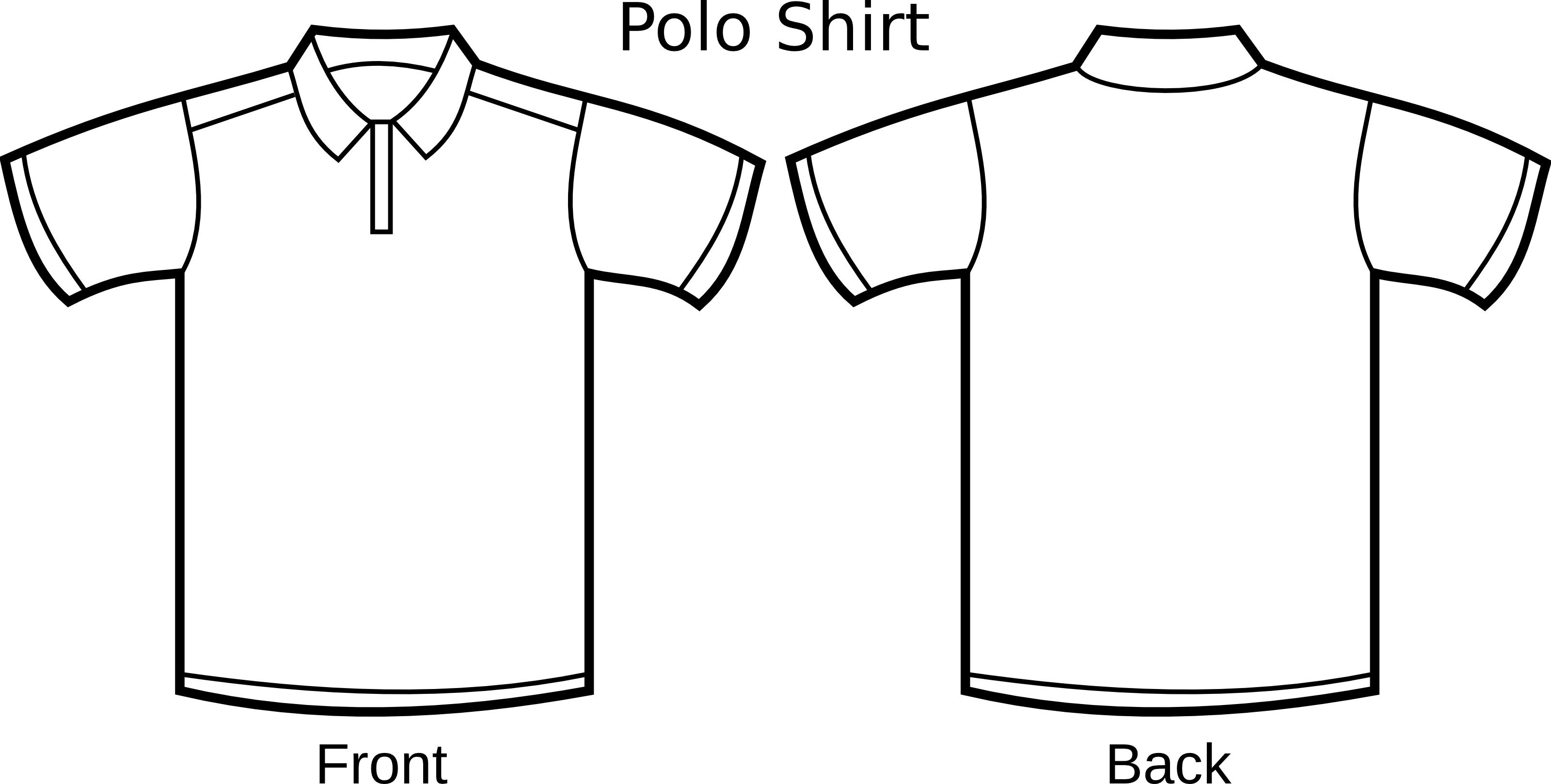 Free T Shirt Template Free T Shirt Outline Template Download Free Clip Art