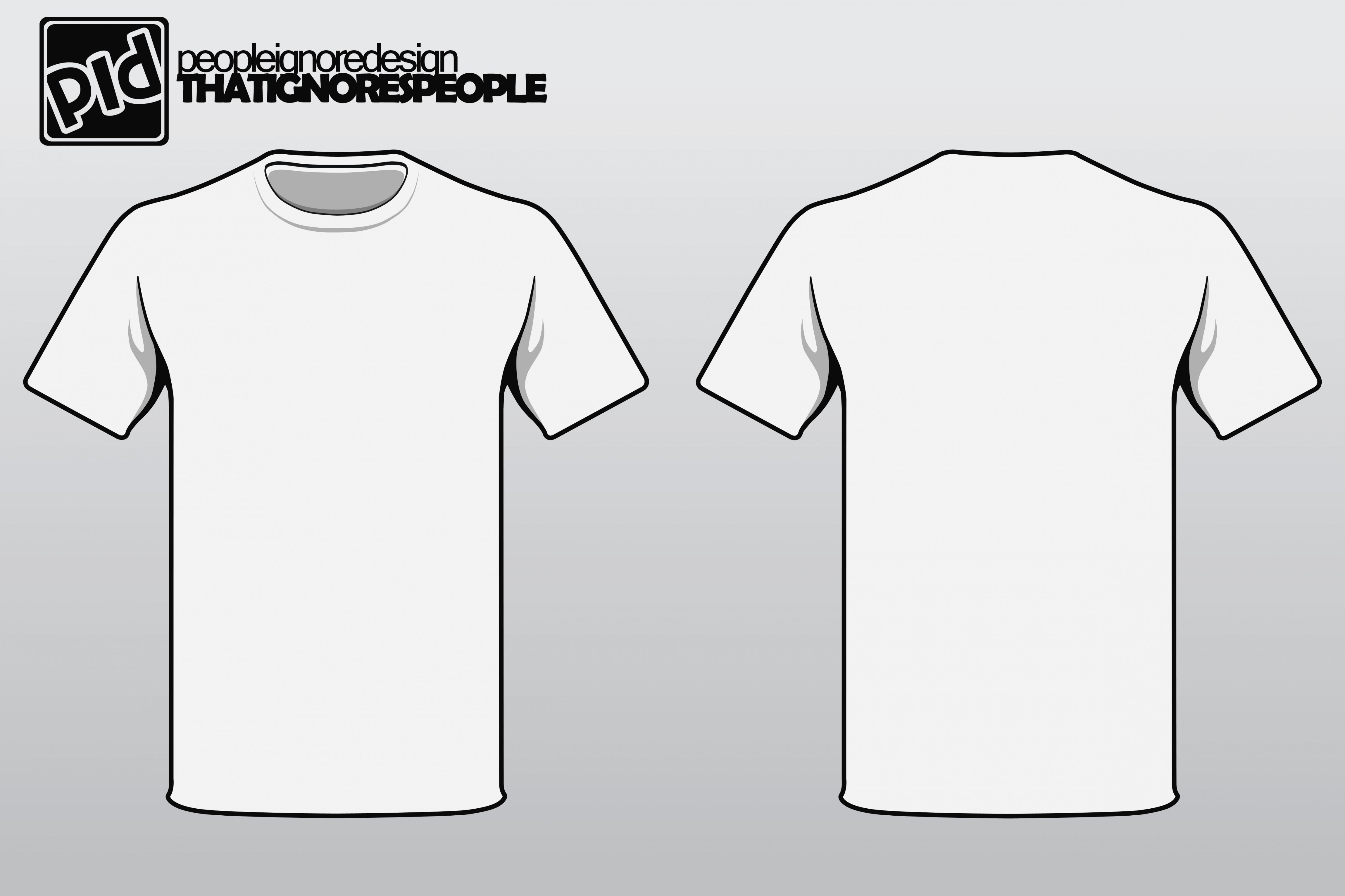 Free T Shirt Template T Shirt Template Vector