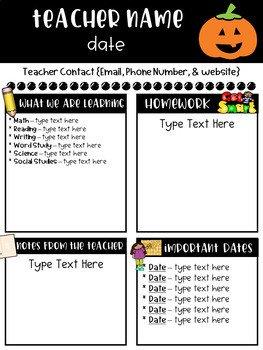 Free Teacher Newsletter Templates Classroom Newsletter Templates Free by Ginger Snaps