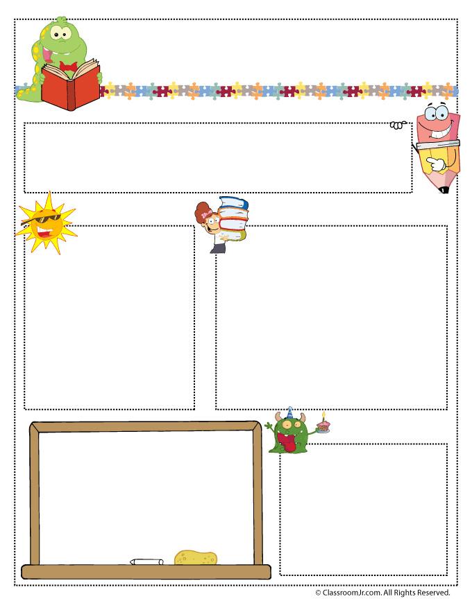 Free Teacher Newsletter Templates Teacher Newsletter Templates Teacher Newsletter Templates