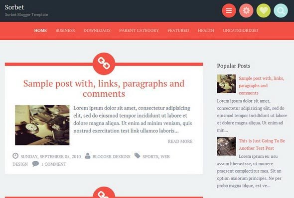 Free Templates for Blogger 30 Best Free Blogger Templates – Early 2014