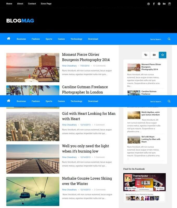 Free Templates for Blogger Blogmag Blogger Template Free Download