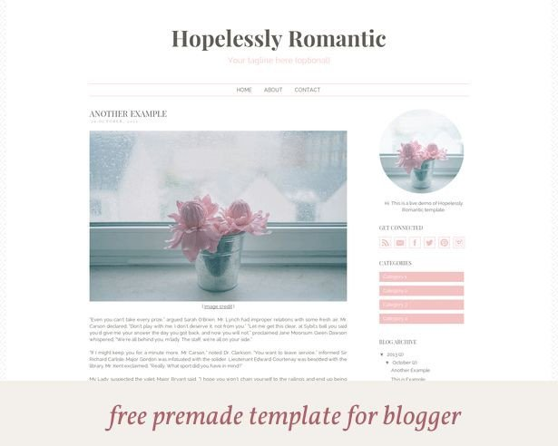 Free Templates for Blogger Free Premade Blogger Template [closed]