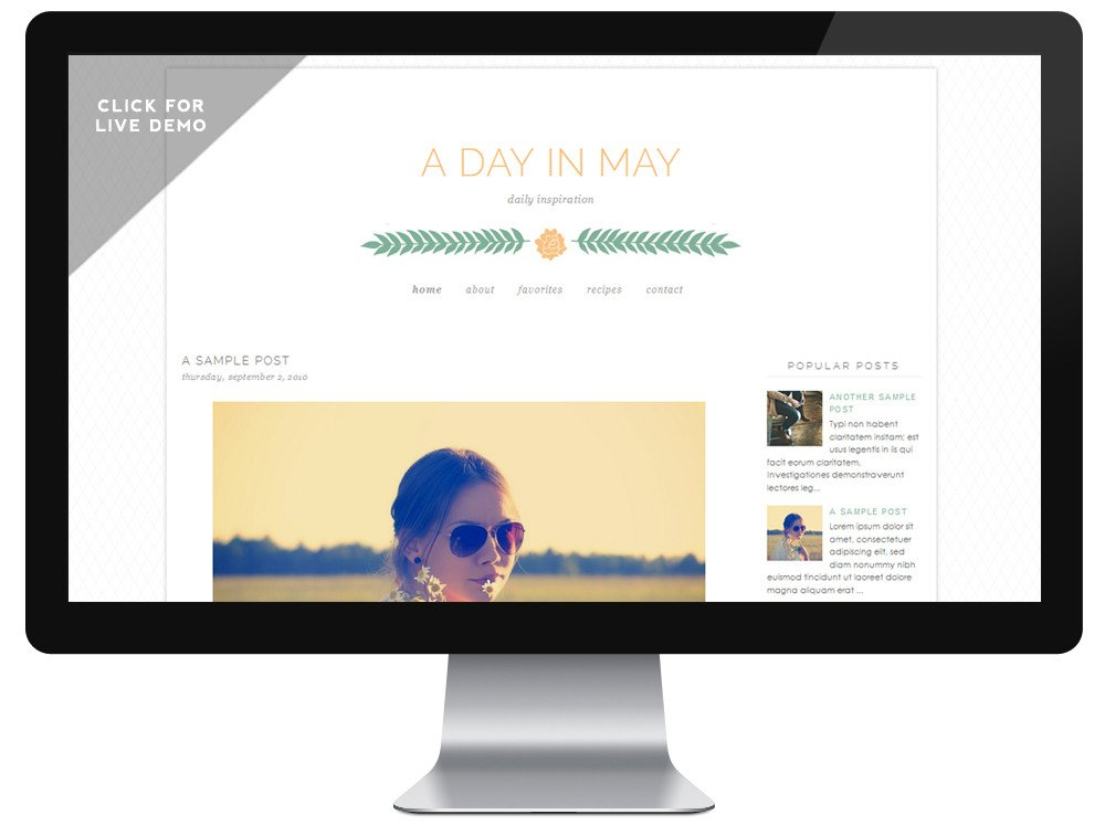Free Templates for Blogger Free Spring Blogger Templates