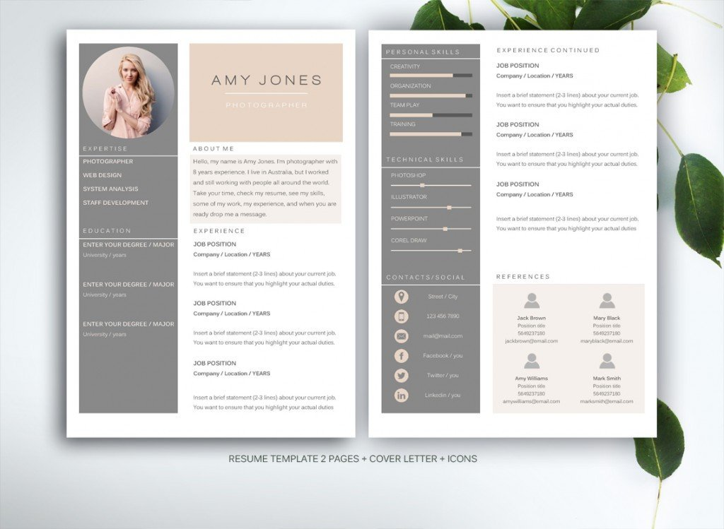 Free Templates for Microsoft Word 10 Resume Templates to Help You A New Job Premiumcoding