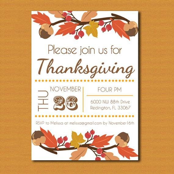 Free Thanksgiving Invitation Templates Thanksgiving Invitation Thanksgiving Invite