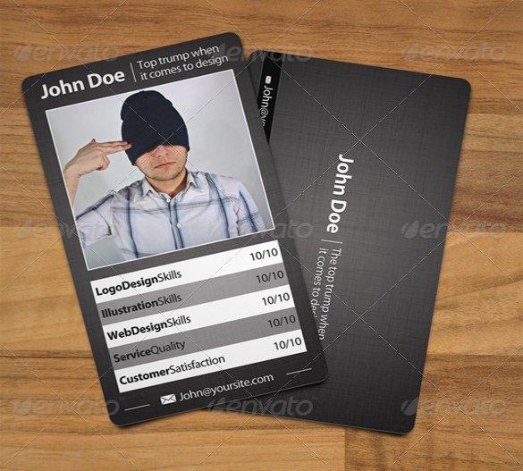 Free Trading Card Template 33 Trading Card Template Word Pdf Psd Eps