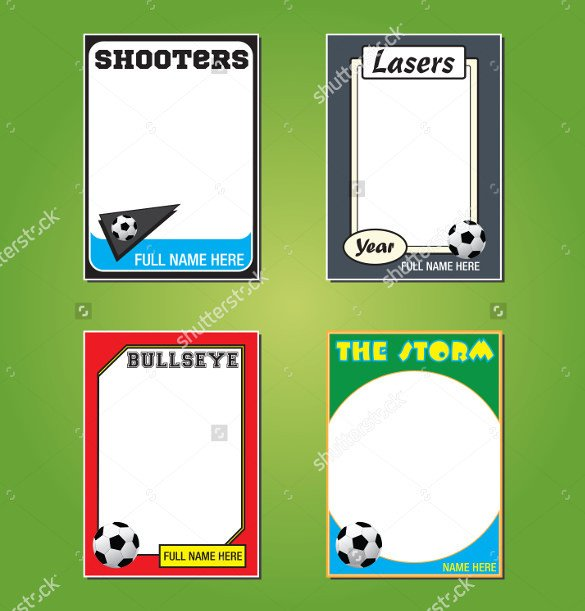 Free Trading Card Template Download 33 Trading Card Template Word Pdf Psd Eps