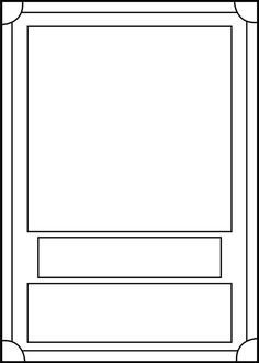 Free Trading Card Template Download Printable Trading Card Template