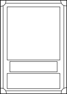 Free Trading Card Template Download Trading Card Template