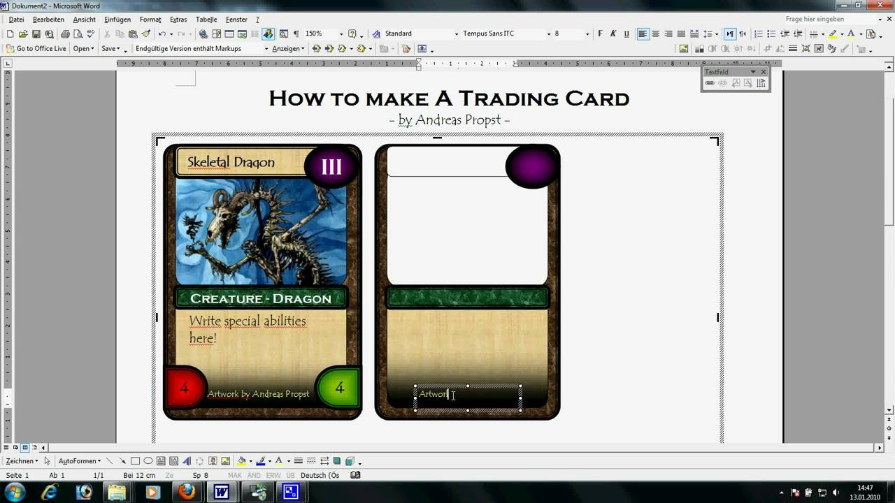 Free Trading Card Template Trading Card Template Word