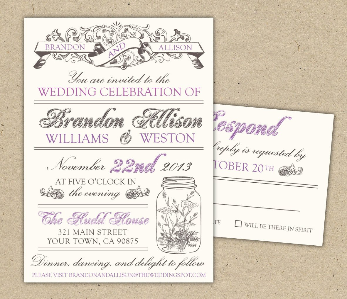 Free Vintage Wedding Invitation Templates 30 Unique Vintage Wedding Invitations
