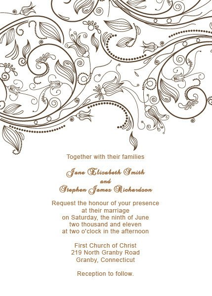 Free Vintage Wedding Invitation Templates Free Wedding Templates Diy Wedding Envelope From Vintage