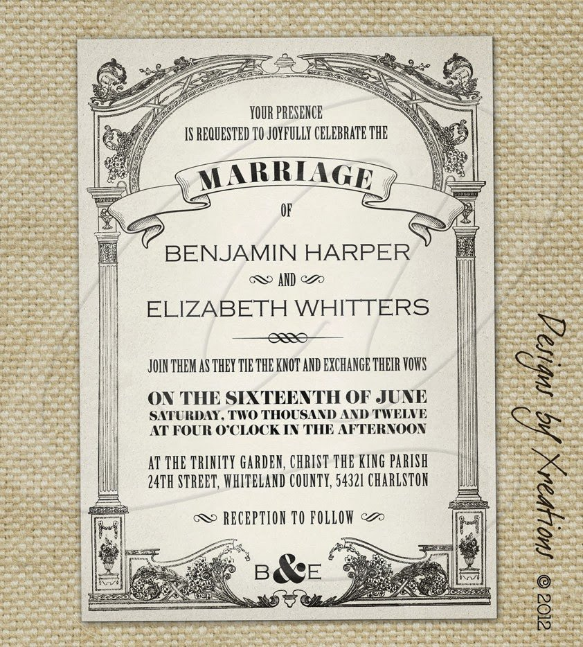 Free Vintage Wedding Invitation Templates Pink Wedding Invitations Vintage Wedding Invitations
