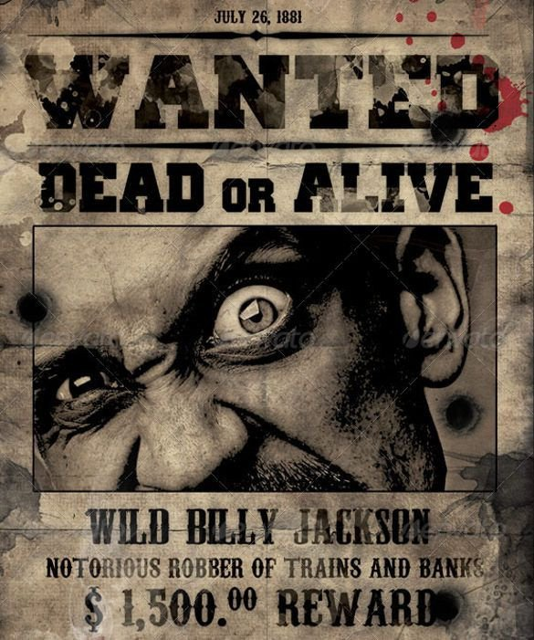 Free Wanted Poster Template Printable 1000 Ideas About Movie Poster Template On Pinterest