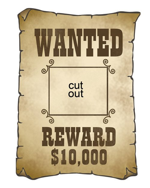 Free Wanted Poster Template Printable Gallery Wanted Posters for Kids Templates