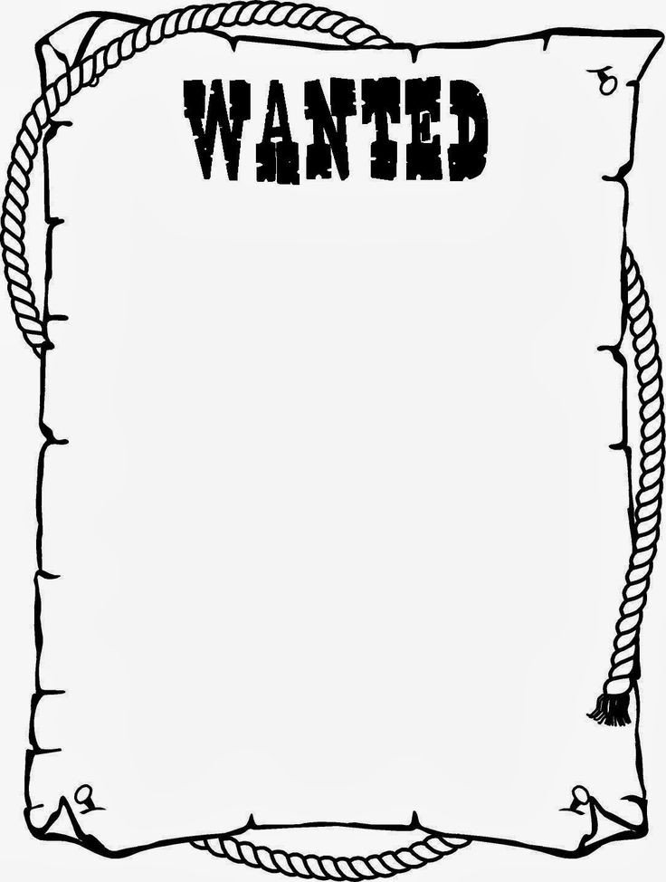 Free Wanted Poster Template Printable Wanted Poster Template for Kids Ctzobx5z