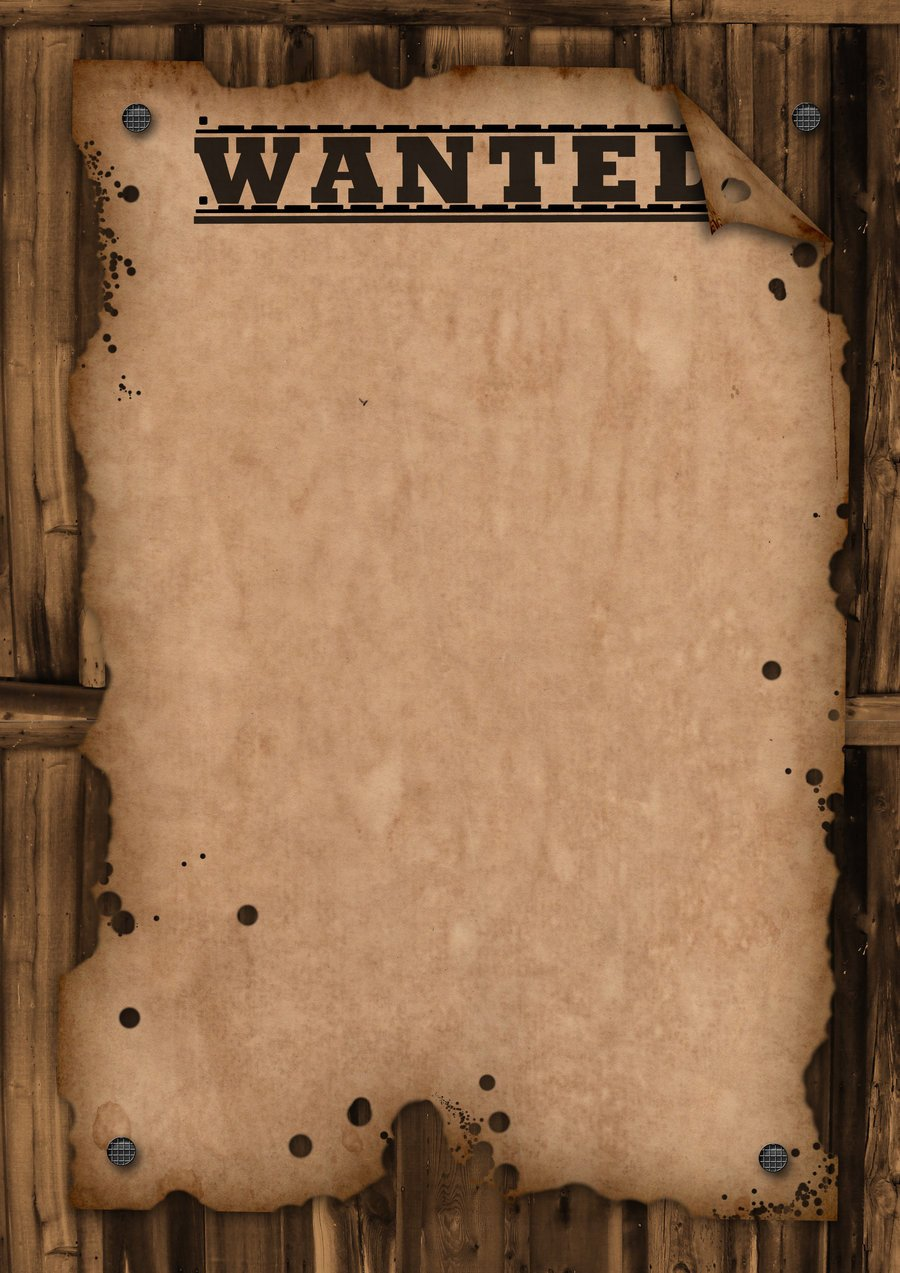 Free Wanted Poster Template Printable Wanted Template by Maxemilliam On Deviantart