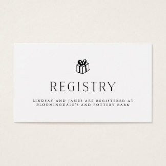 Free Wedding Registry Card Template Wedding Registry Cards Templates