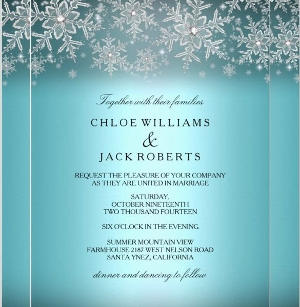 Free Winter Wonderland Invitations Templates Winter Invitation Templates Free Cobypic