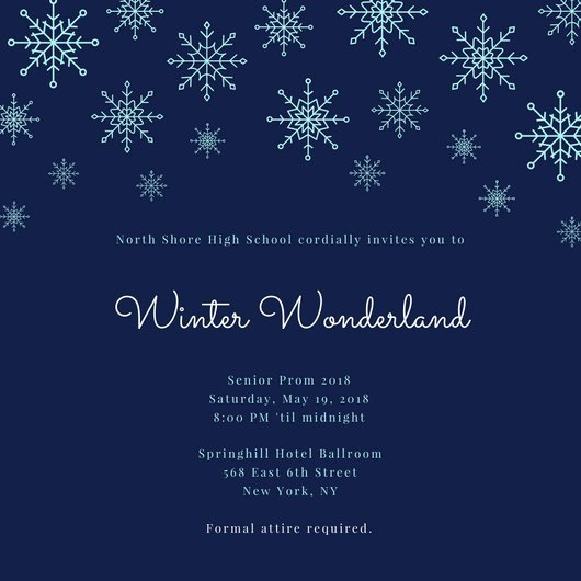 Free Winter Wonderland Invitations Templates Winter Wonderland Invitation