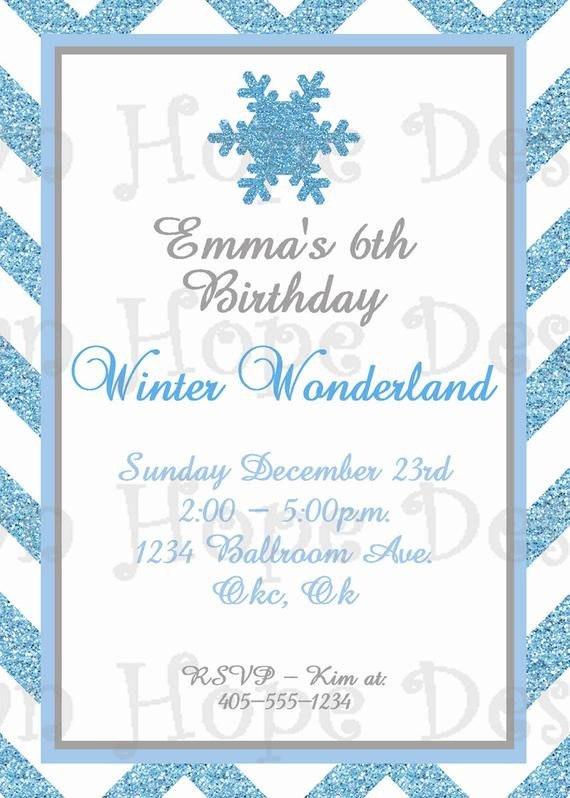 Free Winter Wonderland Invitations Templates Winter Wonderland Invitation Winter Wonderland Birthday